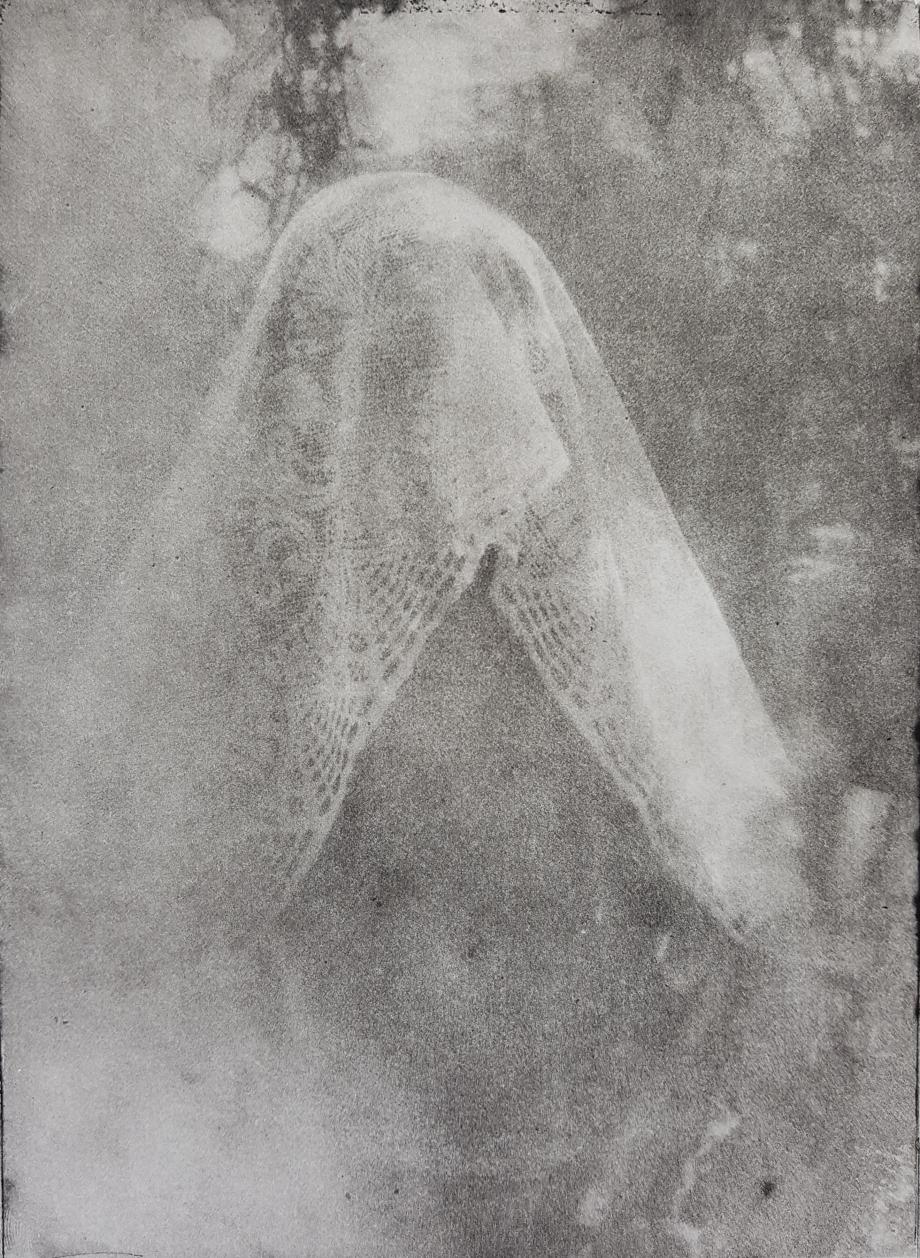 Fotografische ets op Hahnemühle 300 gr papier. 12,5X17,5cm